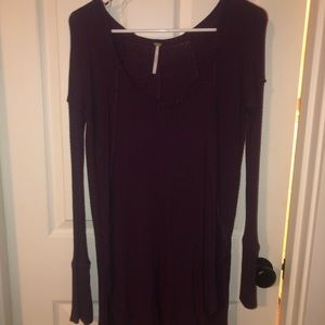 Free People Plum Colored Sweater!!!